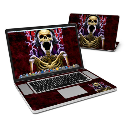 MacBook Pro 17in Skin - Play Loud