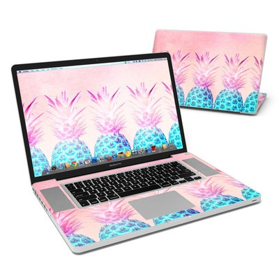 MacBook Pro 17in Skin - Pineapple Farm