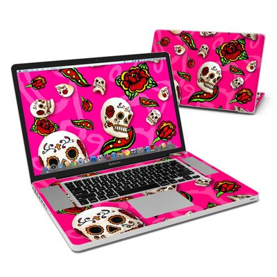 MacBook Pro 17in Skin - Pink Scatter