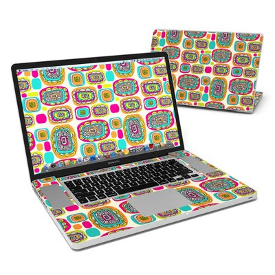 MacBook Pro 17in Skin - Pod Flowers