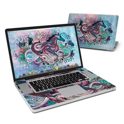 MacBook Pro 17in Skin - Poetry in Motion