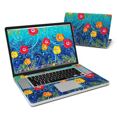 MacBook Pro 17in Skin - Poppies