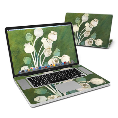 MacBook Pro 17in Skin - Poppy Pods