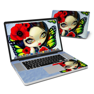 MacBook Pro 17in Skin - Poppy Magic