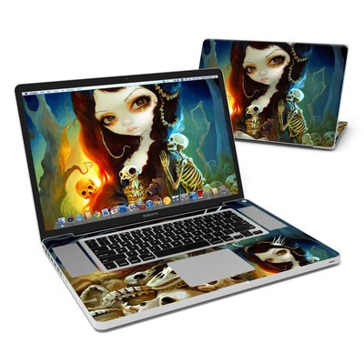 MacBook Pro 17in Skin - Princess of Bones