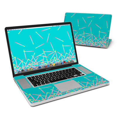 MacBook Pro 17in Skin - Pop Rocks Wands