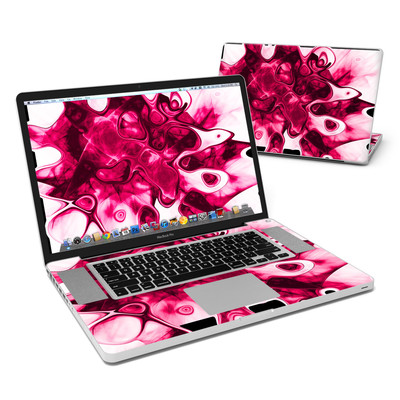 MacBook Pro 17in Skin - Pink Splatter