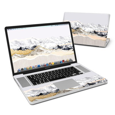 MacBook Pro 17in Skin - Pastel Mountains