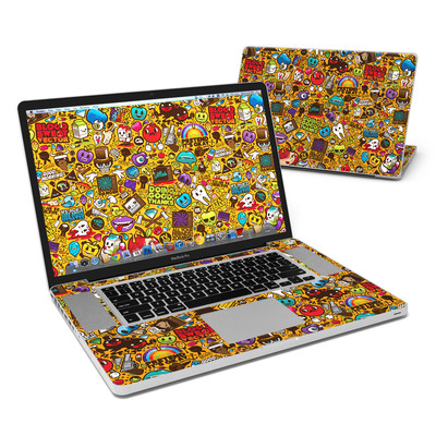 MacBook Pro 17in Skin - Psychedelic