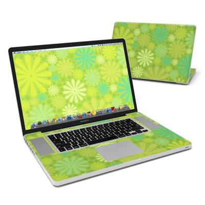 MacBook Pro 17in Skin - Lime Punch