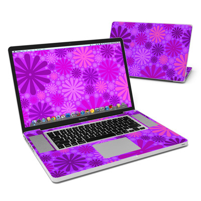 MacBook Pro 17in Skin - Purple Punch