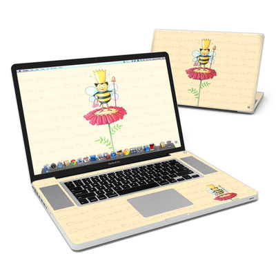 MacBook Pro 17in Skin - Queen Bee