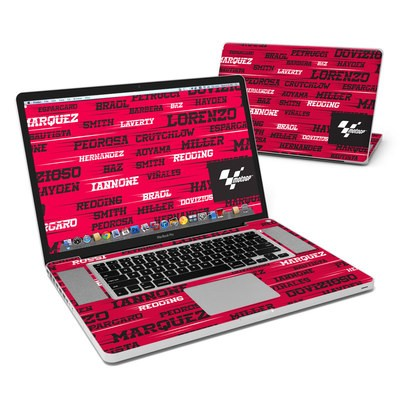 MacBook Pro 17in Skin - Racers