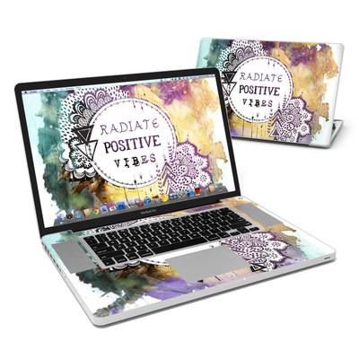 MacBook Pro 17in Skin - Radiate