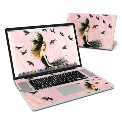 MacBook Pro 17in Skin - Raven Haired Beauty