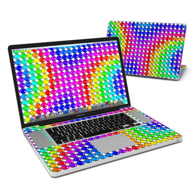 MacBook Pro 17in Skin - Rainbow Candy