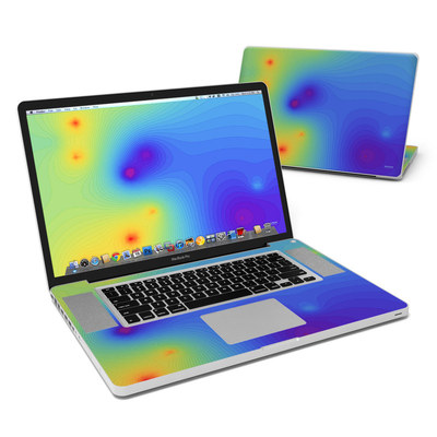 MacBook Pro 17in Skin - Rainbow Contours