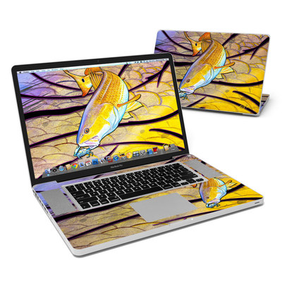 MacBook Pro 17in Skin - Red Fish
