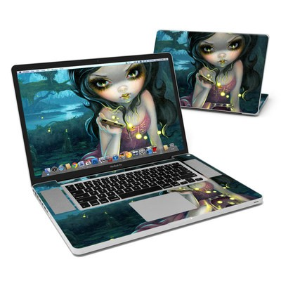 MacBook Pro 17in Skin - Releasing Fireflies