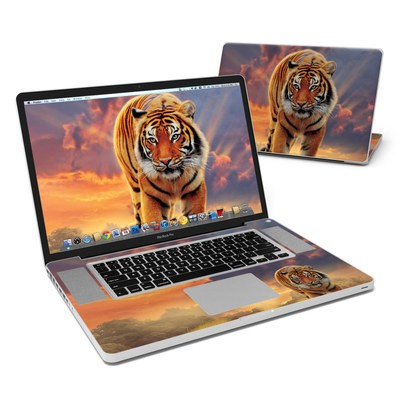 MacBook Pro 17in Skin - Rising Tiger