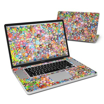 MacBook Pro 17in Skin - Round and Round