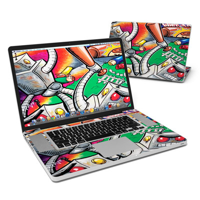 MacBook Pro 17in Skin - Robot Beatdown