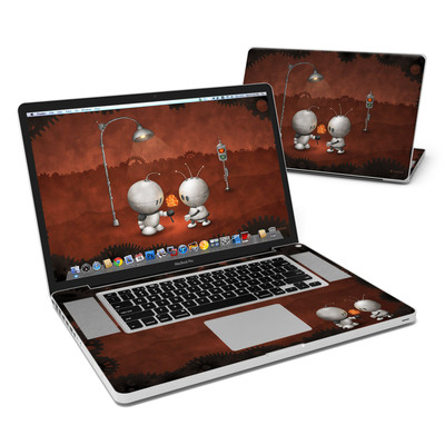 MacBook Pro 17in Skin - Robots In Love