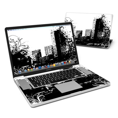 MacBook Pro 17in Skin - Rock This Town