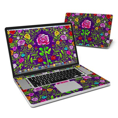 MacBook Pro 17in Skin - Rose Burst