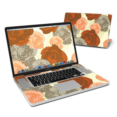 MacBook Pro 17in Skin - Roses