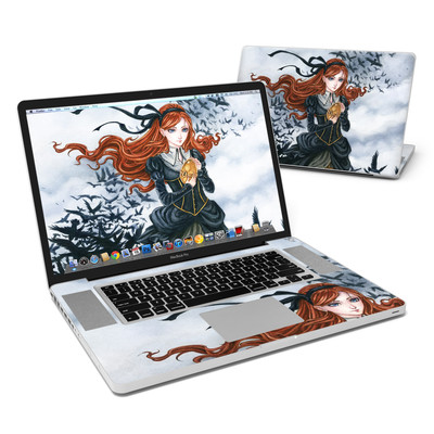 MacBook Pro 17in Skin - Raven's Treasure