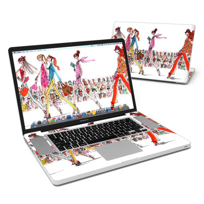 MacBook Pro 17in Skin - Runway Runway