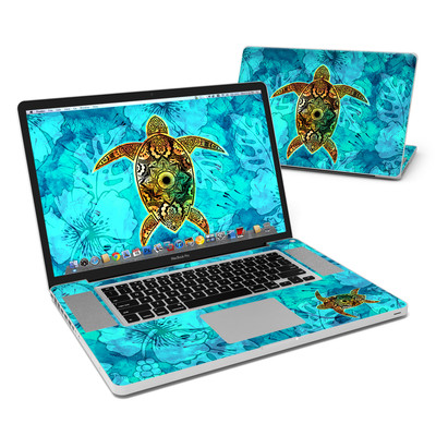 MacBook Pro 17in Skin - Sacred Honu