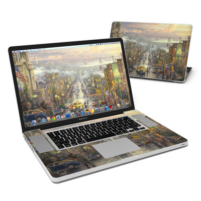 MacBook Pro 17in Skin - Heart of San Francisco