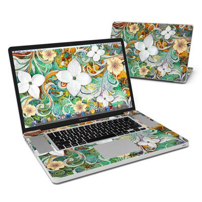 MacBook Pro 17in Skin - Sangria Flora