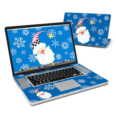 MacBook Pro 17in Skin - Santa Snowflake