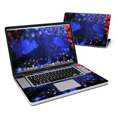 MacBook Pro 17in Skin - Satori Night