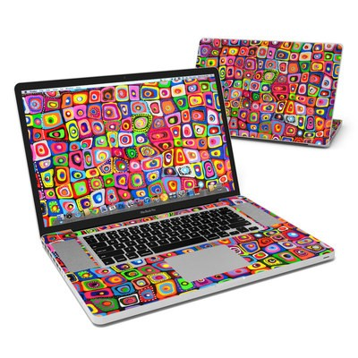 MacBook Pro 17in Skin - Square Dancing