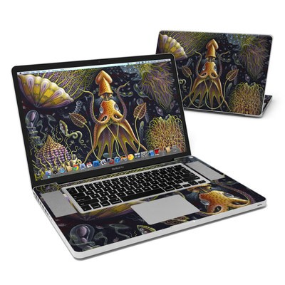 MacBook Pro 17in Skin - Sea Flowers