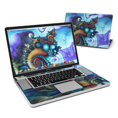 MacBook Pro 17in Skin - Sea Jewel