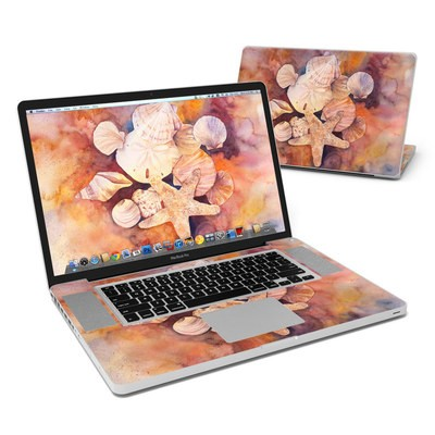 MacBook Pro 17in Skin - Sea Shells