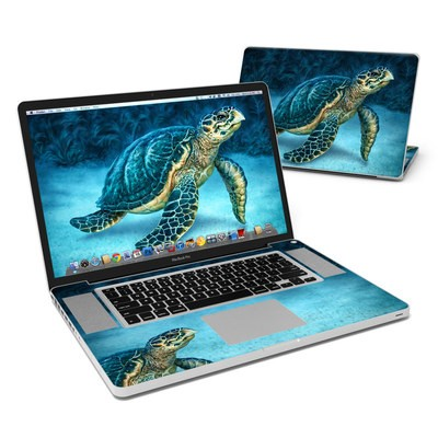 MacBook Pro 17in Skin - Sea Turtle