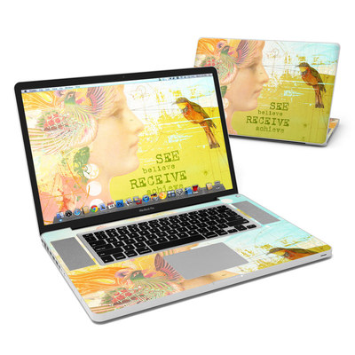MacBook Pro 17in Skin - See Believe