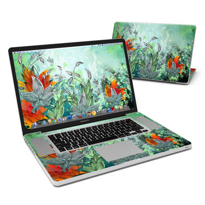 MacBook Pro 17in Skin - Sea Flora