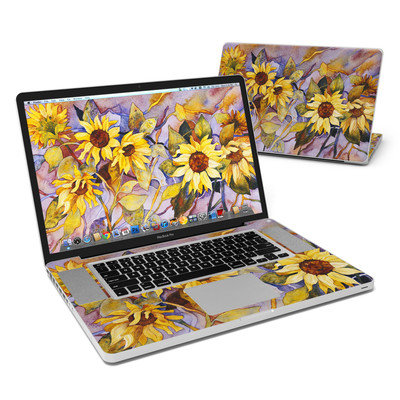 MacBook Pro 17in Skin - Sunflower