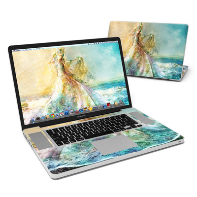 MacBook Pro 17in Skin - The Shell Maiden