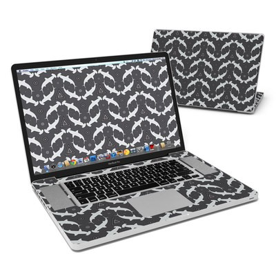 MacBook Pro 17in Skin - Shiver of Sharks