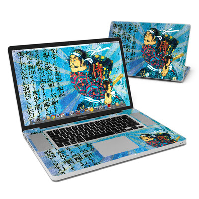 MacBook Pro 17in Skin - Samurai Honor