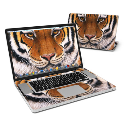 MacBook Pro 17in Skin - Siberian Tiger