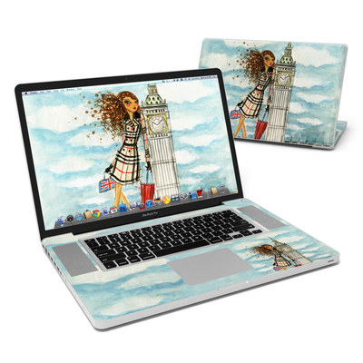 MacBook Pro 17in Skin - The Sights London